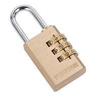 KRT557010 - Visací zámek kombinační 40mm trojmístný kód