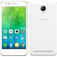 Lenovo C2 White - Mobilní telefon