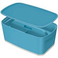 Leitz Cosy MyBox SET úložný box s víkem + organizér s držadlem, modrá, 5l - Úložný box