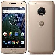 Motorola Moto G Plus 5.generace Gold - Mobilní telefon