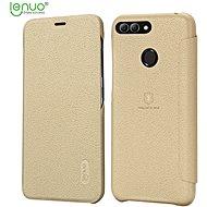 Lenuo Ledream na Huawei Y6 Prime (2018) Gold - Pouzdro na mobilní telefon