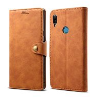 Lenuo Leather pro Huawei Y6 / Y6 Prime (2019), Brown