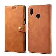 Lenuo Leather pro Huawei Nova 3, hnědá - Pouzdro na mobilní telefon