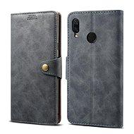 Lenuo Leather pro Huawei Nova 3, šedá - Pouzdro na mobilní telefon