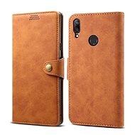 Lenuo Leather pro Huawei Y7 / Y7 Prime (2019), Brown - Pouzdro na mobilní telefon