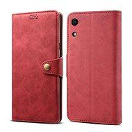 Lenuo Leather pro Honor 8A, červená - Pouzdro na mobilní telefon