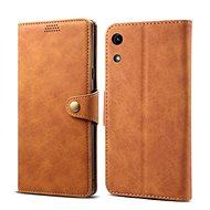 Lenuo Leather pro Honor 8A, hnědá - Pouzdro na mobilní telefon