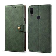 Lenuo Leather pro Xiaomi Redmi Note 7, zelená - Pouzdro na mobilní telefon