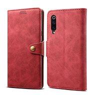 Lenuo Leather pro Xiaomi Mi 9, červená - Pouzdro na mobilní telefon