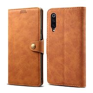 Lenuo Leather pro Xiaomi Mi 9, hnědá - Pouzdro na mobilní telefon
