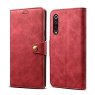 Lenuo Leather pro Xiaomi Mi 9 SE, červená - Pouzdro na mobilní telefon