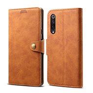 Lenuo Leather pro Xiaomi Mi 9 SE, hnědá - Pouzdro na mobilní telefon