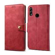 Lenuo Leather pro Honor 10 lite, červené - Pouzdro na mobilní telefon