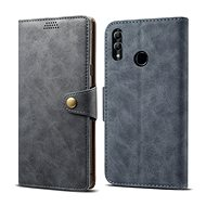 Lenuo Leather pro Honor 10 lite, šedé - Pouzdro na mobilní telefon
