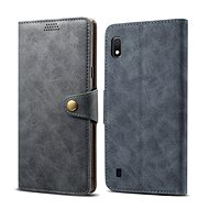 Lenuo Leather pro Samsung Galaxy A10, šedé - Pouzdro na mobilní telefon