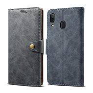 Lenuo Leather pro Samsung Galaxy A30, šedé - Pouzdro na mobilní telefon