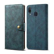 Lenuo Leather pro Samsung Galaxy A30, modré - Pouzdro na mobilní telefon
