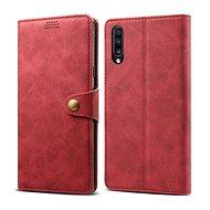 Lenuo Leather pro Samsung Galaxy A50/A50s/A30s, červené - Pouzdro na mobilní telefon