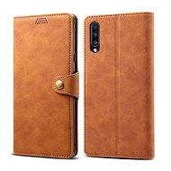 Lenuo Leather pro Samsung Galaxy A50/A50s/A30s hnědé - Pouzdro na mobilní telefon