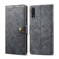 Lenuo Leather pro Samsung Galaxy A50/A50s/A30s šedé - Pouzdro na mobilní telefon