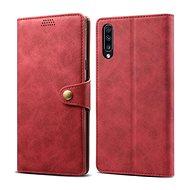 Lenuo Leather pro Samsung Galaxy A70, červené