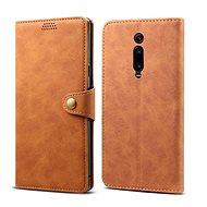 Lenuo Leather na Xiaomi Mi 9T, hnědé - Pouzdro na mobilní telefon