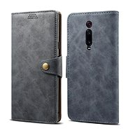 Lenuo Leather na Xiaomi Mi 9T, šedé - Pouzdro na mobilní telefon