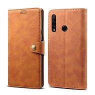 Lenuo Leather na Honor 20 lite, hnědé - Pouzdro na mobilní telefon
