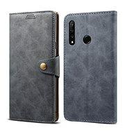 Lenuo Leather na Honor 20 lite, šedé - Pouzdro na mobilní telefon