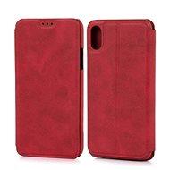 Lenuo LeDe na iPhone X/Xs, červené - Pouzdro na mobilní telefon