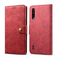 Lenuo Leather pro Xiaomi Mi 9 Lite, červená - Pouzdro na mobilní telefon