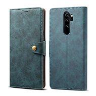 Lenuo Leather pro Xiaomi Redmi Note 8 Pro, modrá - Pouzdro na mobilní telefon
