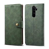 Lenuo Leather pro Xiaomi Redmi Note 8 Pro, zelená - Pouzdro na mobilní telefon