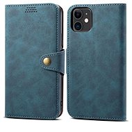 Lenuo Leather pro iPhone 11, modrá - Pouzdro na mobil