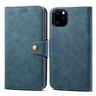 Lenuo Leather pro iPhone 11 Pro, modrá - Pouzdro na mobilní telefon