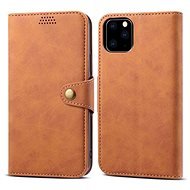 Lenuo Leather pro iPhone 11 Pro, hnědá - Pouzdro na mobilní telefon