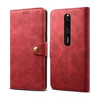 Lenuo Leather for Xiaomi Redmi 8, red