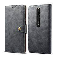 Lenuo Leather pro Xiaomi Redmi 8, šedá - Pouzdro na mobil