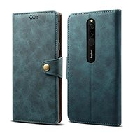 Lenuo Leather for Xiaomi Redmi 8, blue