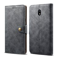 Lenuo Leather for Xiaomi Redmi 8A, grey