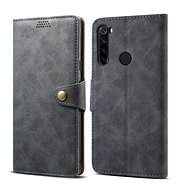 Lenuo Leather for Xiaomi Redmi Note 8T, grey