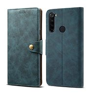 Lenuo Leather for Xiaomi Redmi Note 8T, blue