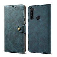 Lenuo Leather pro Xiaomi Redmi Note 8T, modrá