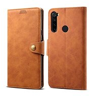 Lenuo Leather for Xiaomi Redmi Note 8T, brown
