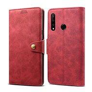 Lenuo Leather pro Honor 9X, červená - Pouzdro na mobilní telefon