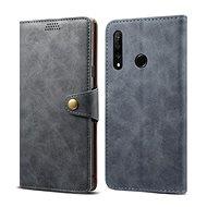 Lenuo Leather pro Honor 9X, šedá - Pouzdro na mobilní telefon