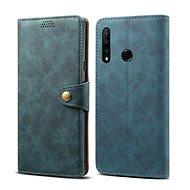 Lenuo Leather pro Honor 9X, modrá - Pouzdro na mobilní telefon