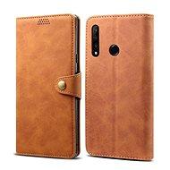Lenuo Leather pro Honor 9X, hnědá - Pouzdro na mobilní telefon