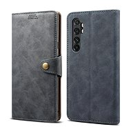 Lenuo Leather pro Xiaomi Mi Note 10 Lite, šedé - Pouzdro na mobil