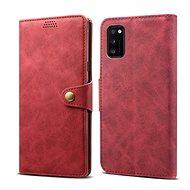 Lenuo Leather pro Samsung Galaxy A41, červené - Pouzdro na mobil